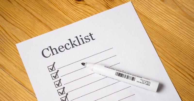 U-Storage Checklist para Mudanza