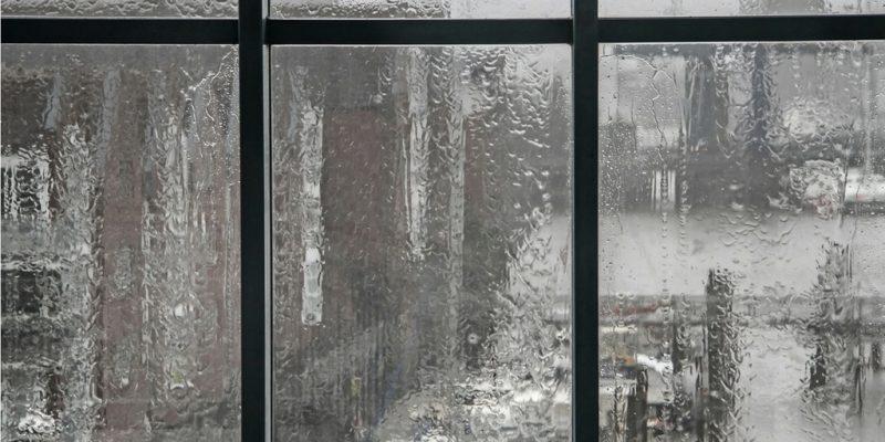 ventanas durante temporada de lluvias