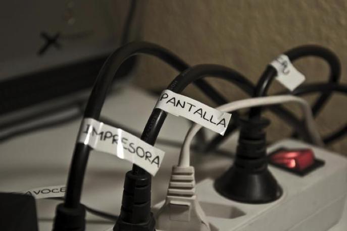 cables etiquetados