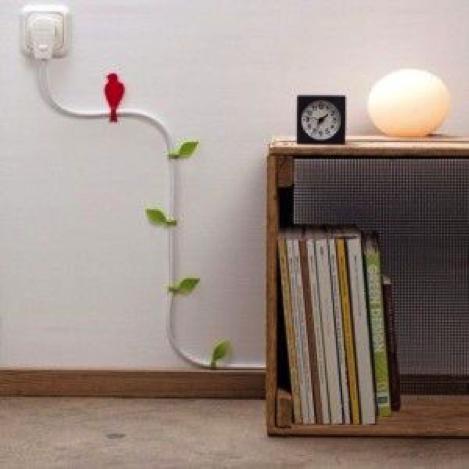 decora cables de electrónicos