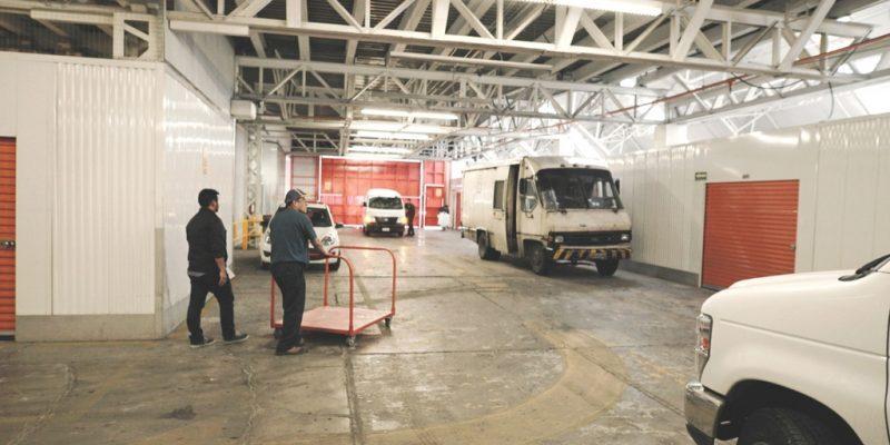 Estacionamiento en U-Storage Toreo