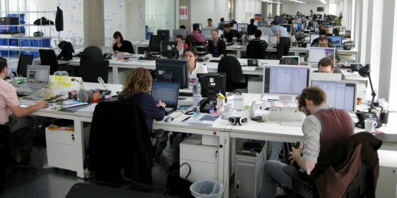 Oficina con Gente