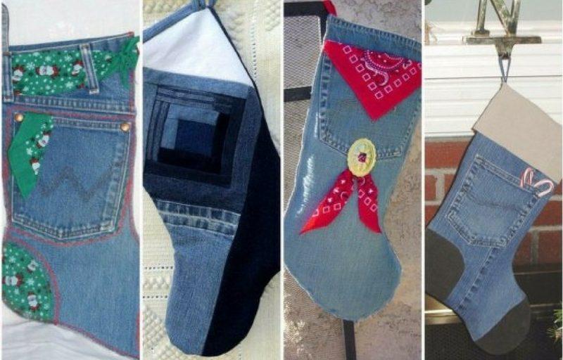 Calcetas de Navidad con Jeans