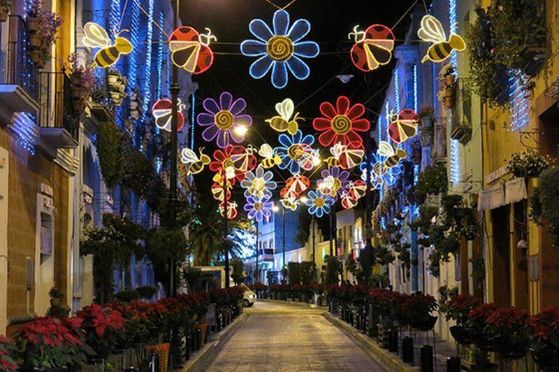 Atlixco, Puebla en Navidad