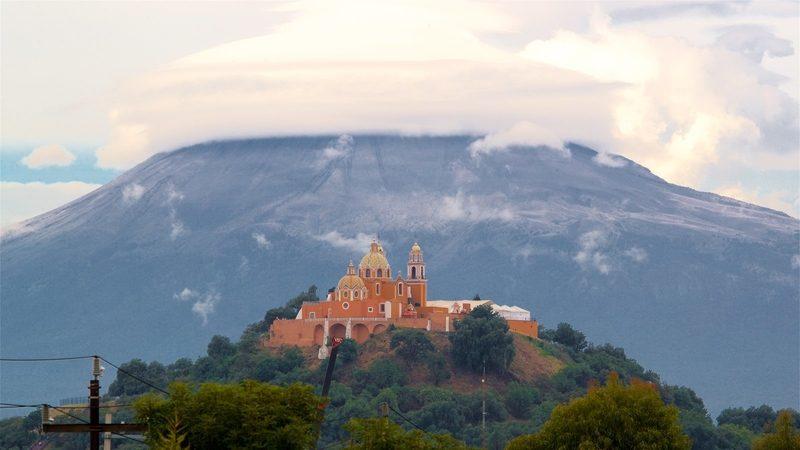 Santuario de La Virgen de los Remedios en Puebla