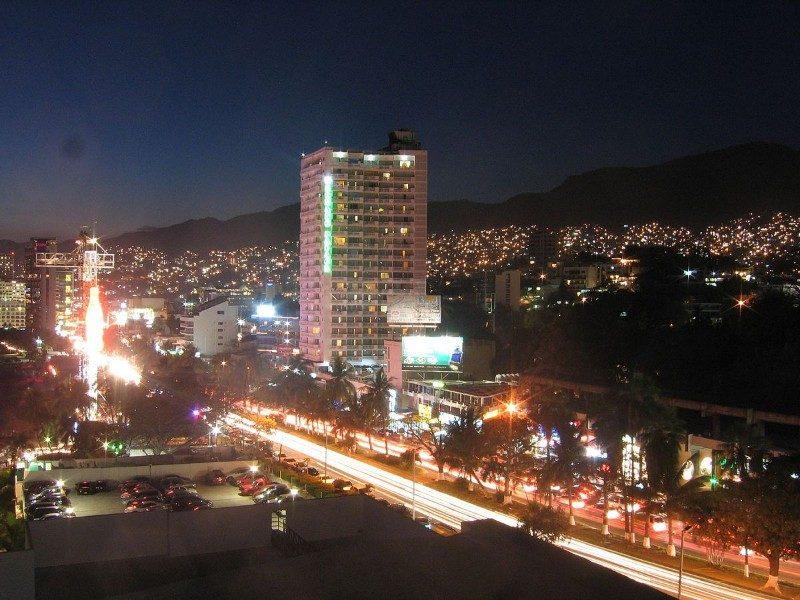 Costera Miguel Alemán en Acapulco
