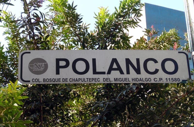 Colonia Polanco CDMX