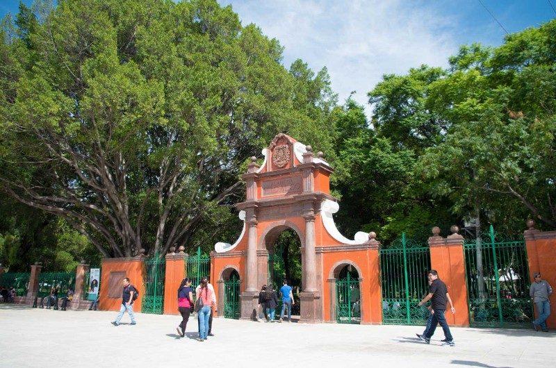 Alameda Miguel Hidalgo en Querétaro