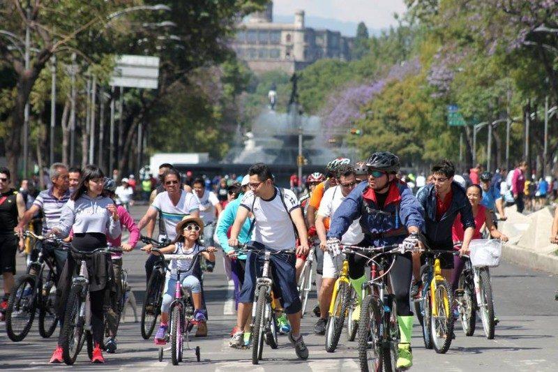 Paseo Dominical en Bici CDMX