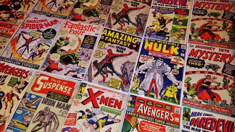 Colección de Comics