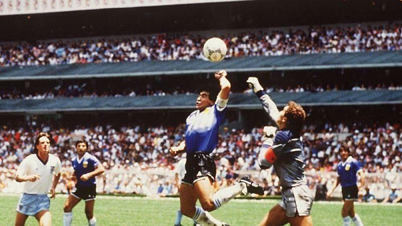 Diego Armando Maradona - Mano de Dios
