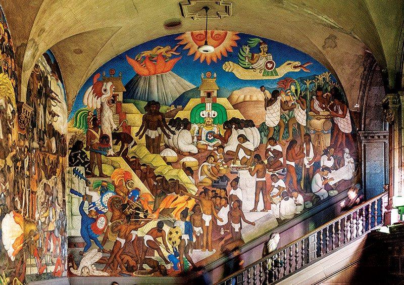 mural mexicano