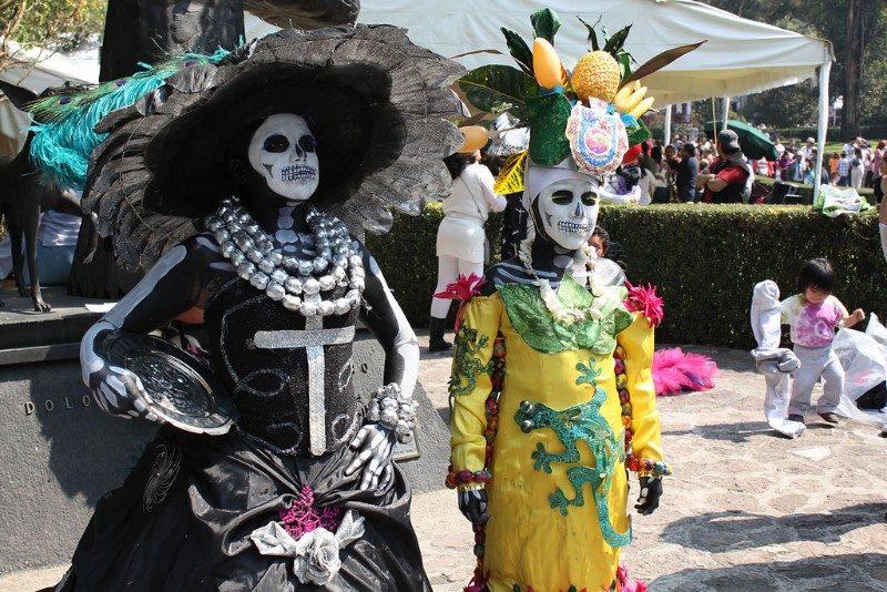 Disfraz de Catrina para Día de Muertos 2018