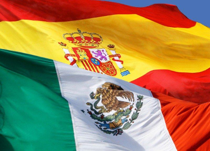 La unión de México y España