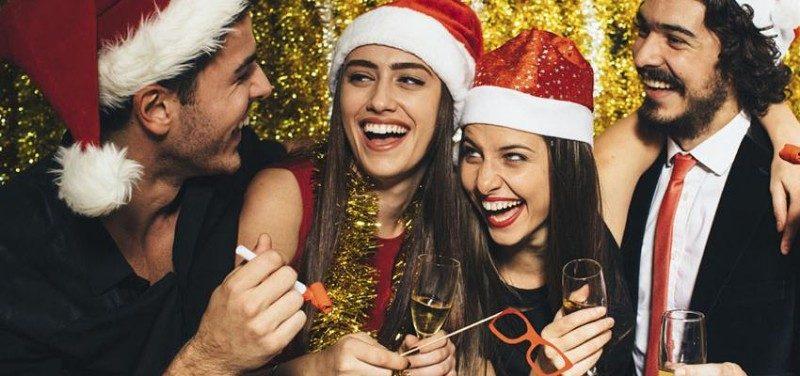 Etiqueta para la Fiesta de Navidad de tu Empresa
