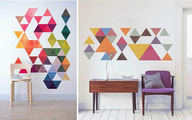 Geometría en Decoración
