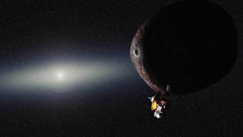 New Horizons sobrevoló 2014 MU69