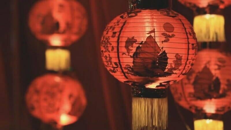 Lámparas Chinas