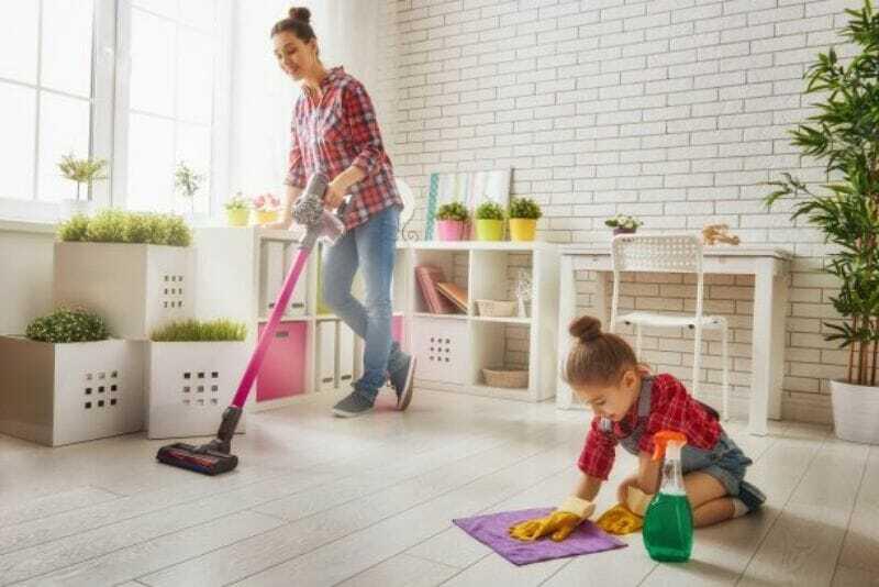 Limpieza - Madre e Hija