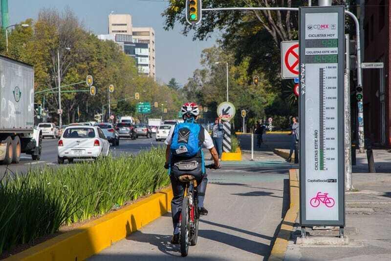 Guía del Ciclista Urbano CDMX