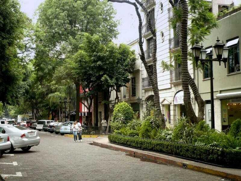 Calle en Colonia del Valle CDMX