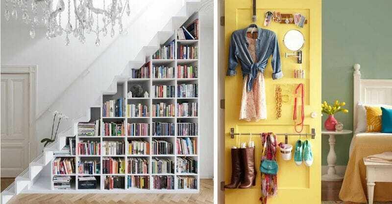 Librero Bajo Escaleras
