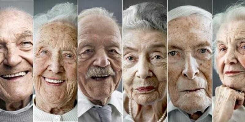 Ancianos en México