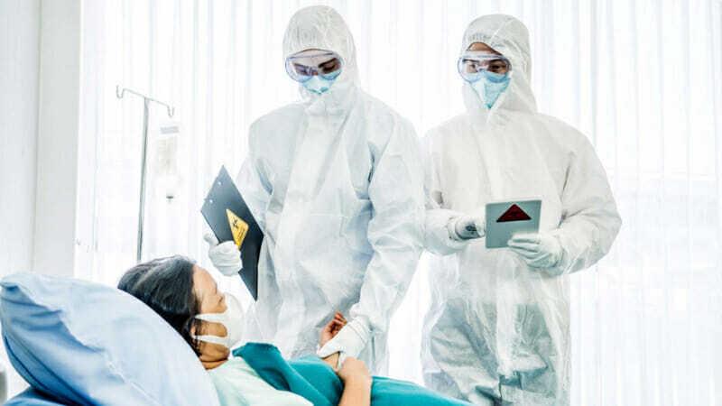 médicos durante pandemia
