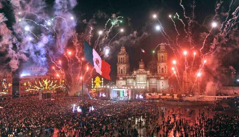 """Zócalo de CDMX """"El Grito"""""""