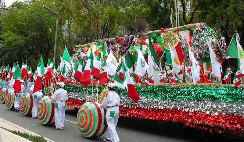 Festejo Patrio - México