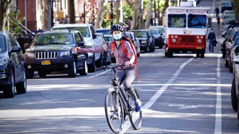 bici durante pandemia