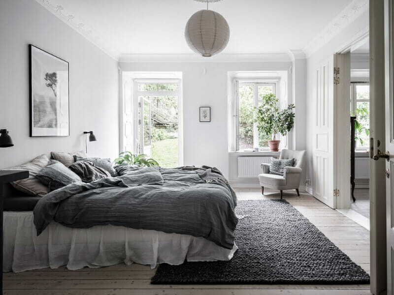 alfombra en casa