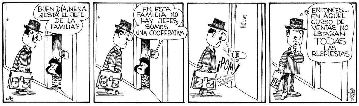 Mafalda - Familia Cooperativa