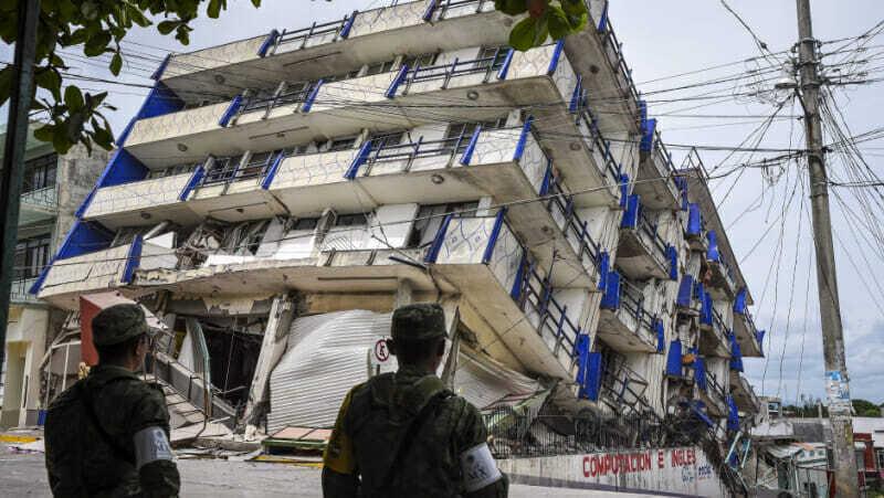 Terremoto en CDMX