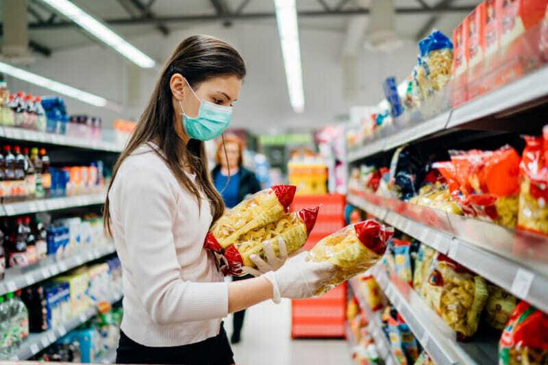 Supermercado durante COVID-19