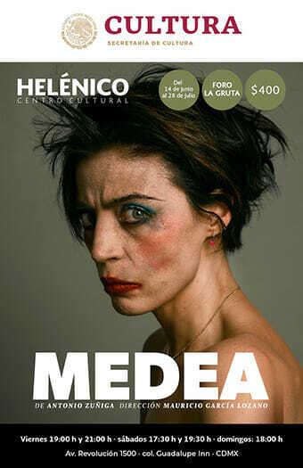 Cartel Medea Teatro